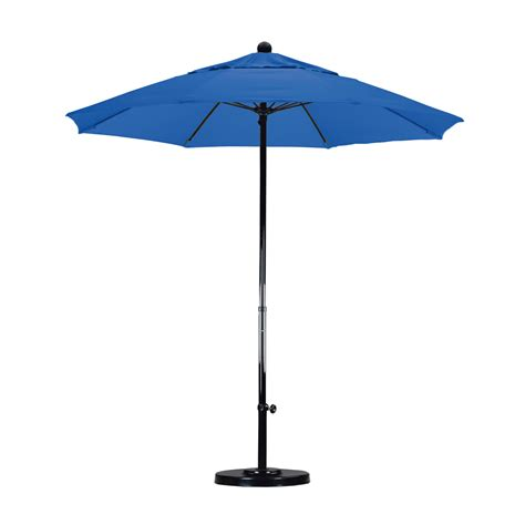 Commercial Grade Patio Umbrellas California Umbrella 7 5 Commercial Grade Market Umbrella Olefin Choice Of Color Outdoor