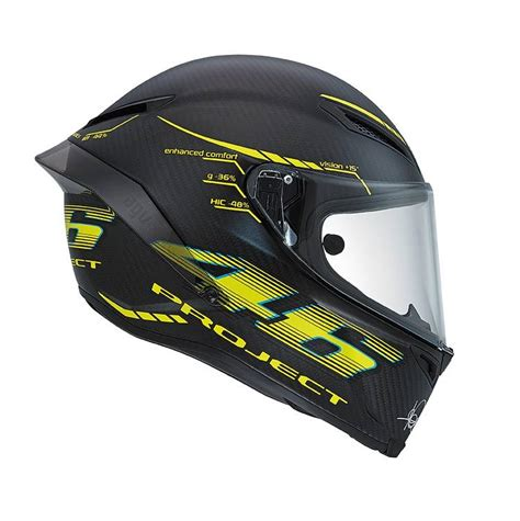 Helm Agv Vr46 Project Agv Pista Project 46 2 0 Helm Chion Helmets