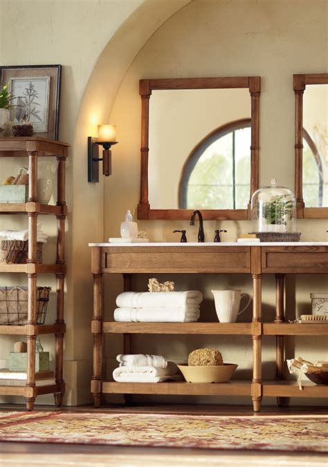 Bathroom Vanity Open Shelves 1000 Images About Bath On Pinterest Bath Vanities Single Vanities And Linen Cabinet