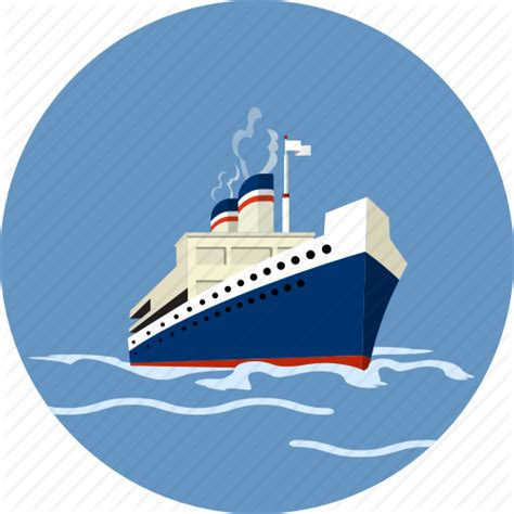 boat trip icon cruise ship clip art png www imgkid the image kid