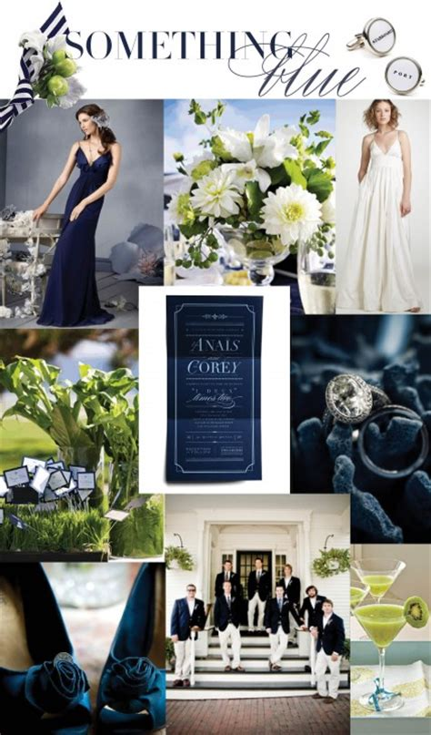 wedding colors for 2011 nautical blues wedding trends