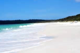 sand beaches hyams beach jervis bay new south wales