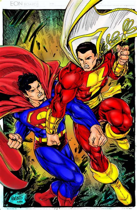 Superman Vs Captain Marvel Shazam | superman vs captain marvel hot girls wallpaper
