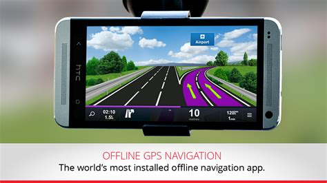 gps app for android gps navigation maps sygic screenshot