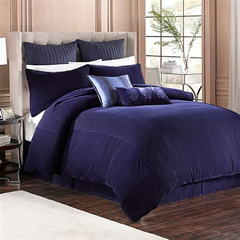 california king bed skirt buy velvet california king bed skirt in indigo from bed bath beyond