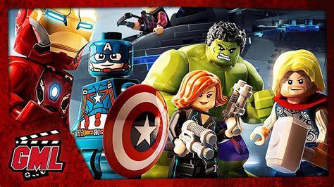 film marvel nouveau lego marvel avengers film jeu complet en francais youtube
