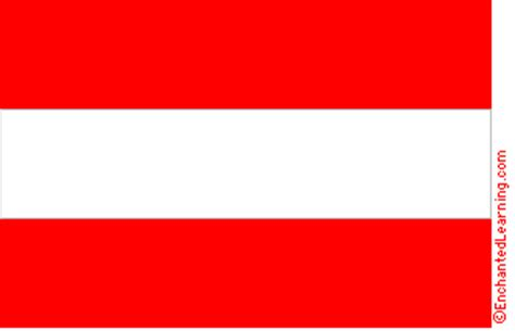 Flags Of The World Red And White Stripes | flag of austria enchantedlearning com