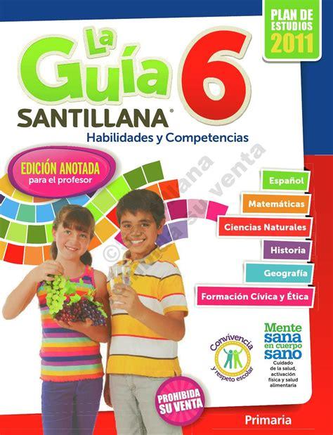 gua santillana by cara de mueca guia santillana quinto grado by cara de muneca la gu 237