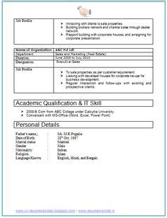 years sles experienced freshers chartered accountant resume format freshers page 2 cv exles resume format