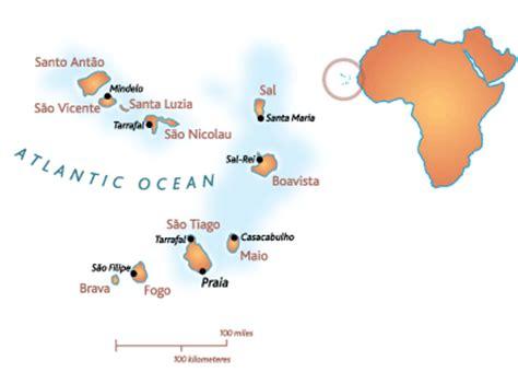 cape verde islands map cape verde holidays culture travel world tour guide