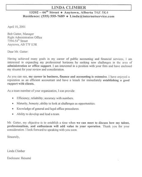 Cover Letter For Office Assistant Position