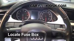 interior fuse box location 2009 2016 audi a4 quattro 2009 audi a4 quattro 2 0l 4 cyl turbo