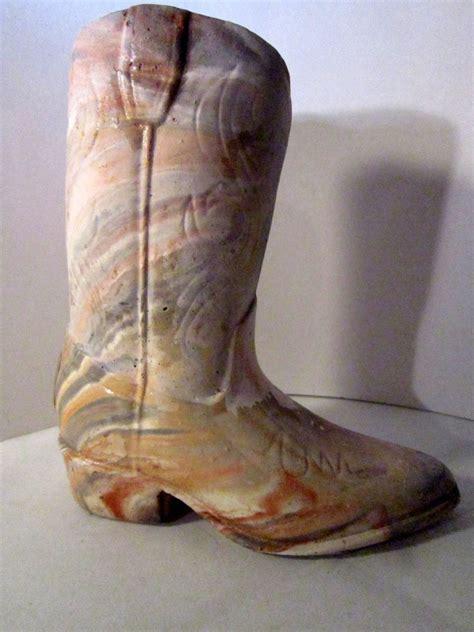 Boot Vases by Cowboy Boot Vase Vintage Western Boot Oklahoma Vases