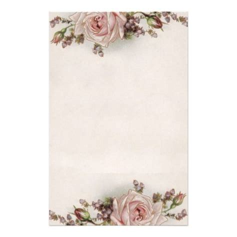 printable stationary with roses 58 best images about stationery on pinterest pink roses