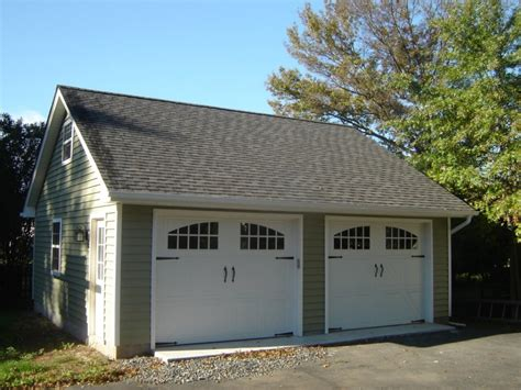 2 car detached garage kits plans the better garages