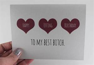 customizable friend birthday card best friend by bepaperie