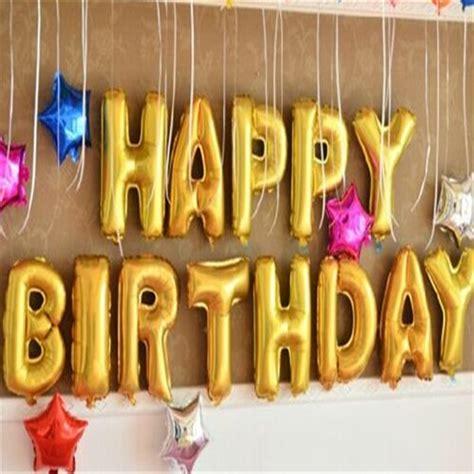 Balon Motif Happybirhtday get cheap gold balloon aliexpress alibaba