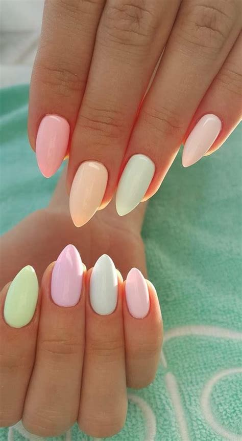 Summer Of 38 by 38 Summer Nail Designs And Colors 2017 Pastels