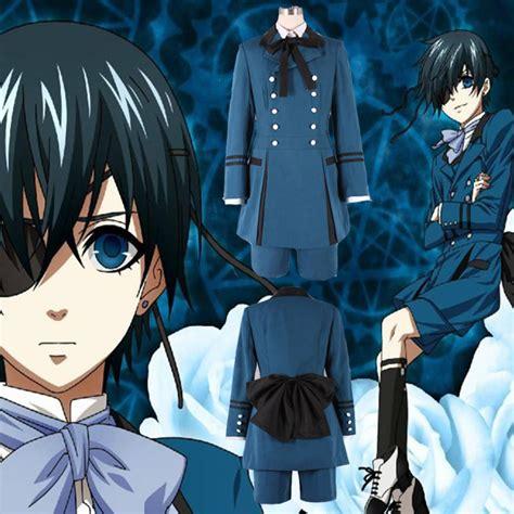Costume Kuroshitsuji Ciel black butler 2 kuroshitsuji ciel phantomhive blue boy