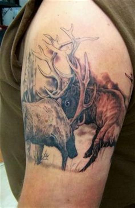 call of the wild tattoo my s elk by shawn at call of the