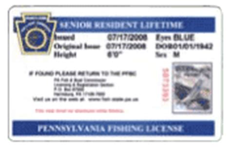 lifetime license pa summary book fishing licenses