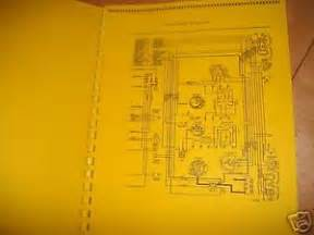1966 1967 mercury comet cyclone wiring diagrams manual ebay