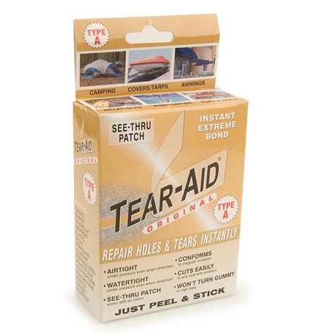 upholstery tear repair tear aid fabric repair kit type a sailrite
