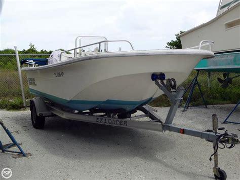 carolina skiff jet boat 2007 used carolina skiff 198 dlv boat for sale 13 000