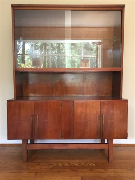Mid Century Cupboard by Mid Century Modern China Liquor Display Storage Cabinet