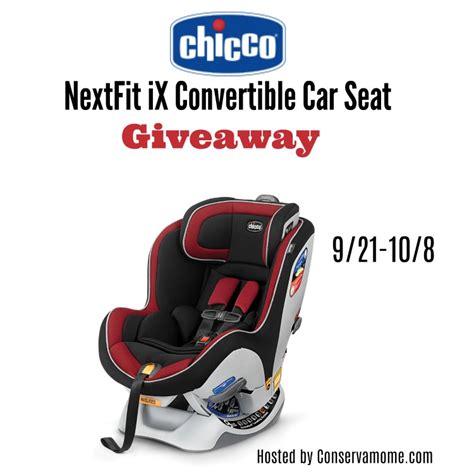 Car Seat Giveaway 2017 - chicco nextfix ix convertible car seat giveaway usa ends 10 8 mama banana s adventures