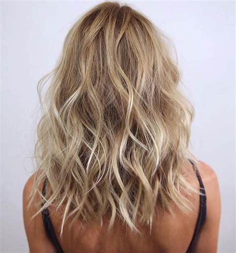 wavy hair lowlights 25 hot long bob haircuts and hair color ideas part 2