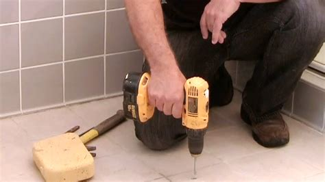 drill bathroom tiles without breaking them video how do i drill into ceramic tile without breaking