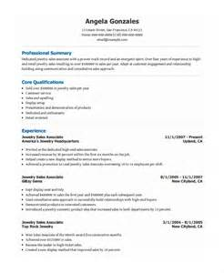 Resume Templates For Sales by Sales Associate Resume Template 8 Free Word Pdf