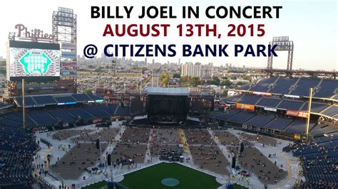 Billy Tv Bank by Billy Joel In Concert August 13th 2015 Citizens Bank