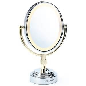 Makeup Mirror With Lights Revlon Revlon Mirrors Deluxe Oval Mirror Revlon
