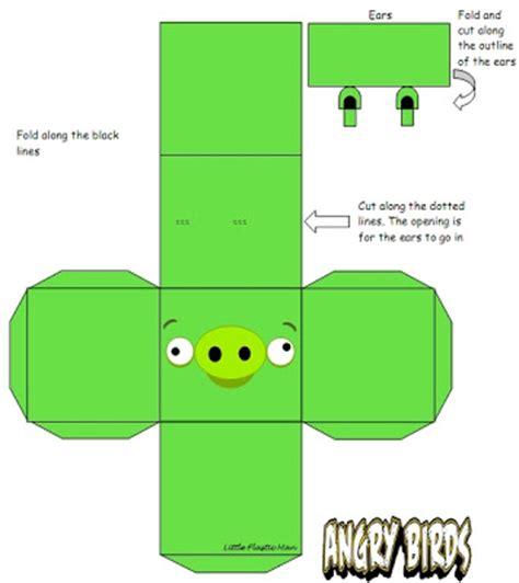 Angry Birds Origami - jelia s playground angry birds origami paper craft