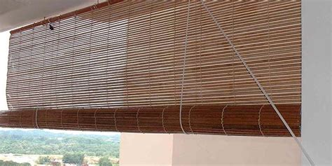 Blinds Outdoor Patio Bamboo Wood Free Real Tits Bamboo Patio Shade
