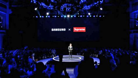 samsung to develop real products with a supreme