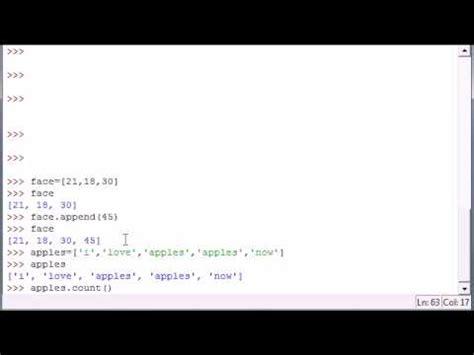tutorial python language python programming tutorial 14 intro to methods all