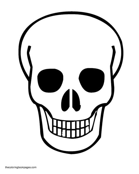 halloween coloring pages skull halloween skull coloring pages fun for christmas