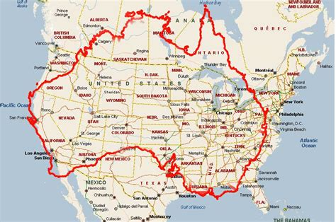 us map superimposed on europe what canada really looks like superimposed a map of