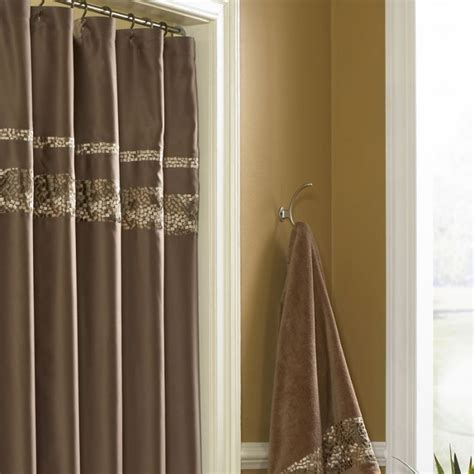 drape shower curtains croscill mosaic shower curtain shower curtains