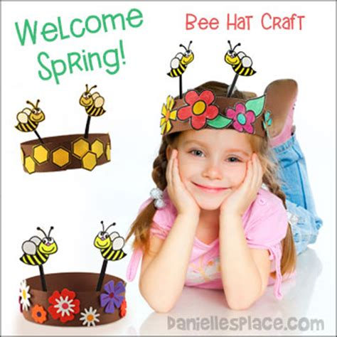 Paper Hats For Preschoolers - happy bees hat craft for from www