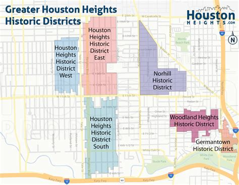 houston district k map houston heights neighborhood real estate trends