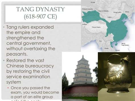 Tang Dynasty 1 19 ppt east asian postclassics powerpoint presentation id 1953636