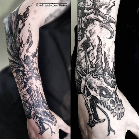 bones tattoo designs image result for blackwork design