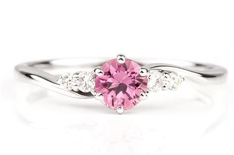 photo of the day pink sapphire ring