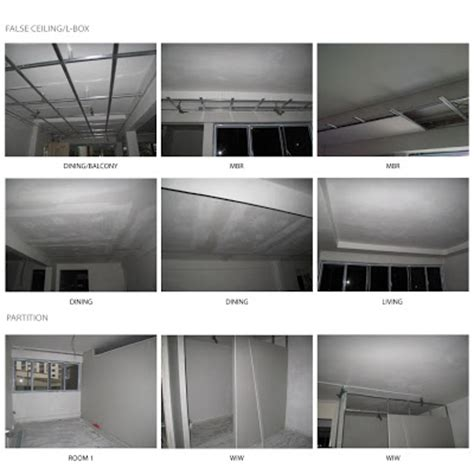 Ceiling Partition Our White Residence False Ceiling Partition Walls