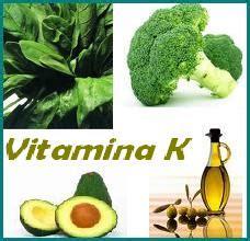 alimenti con vitamina k vitamina k
