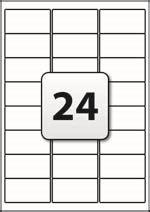 Apli Label White Paper 64 6 X 33 8mm 2400 Unit 01263 label template 24 per sheet printable label templates